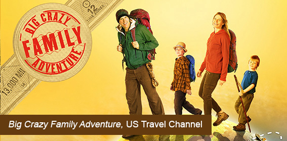 Big Crazy Family Adventure, US Travel Channel